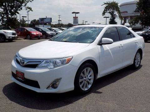 2014 Toyota Camry for sale at Credit Connection Sales in Fort Worth TX