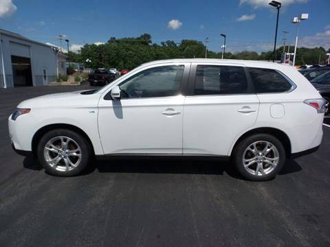 2014 Mitsubishi Outlander for sale at Credit Connection Sales in Fort Worth TX