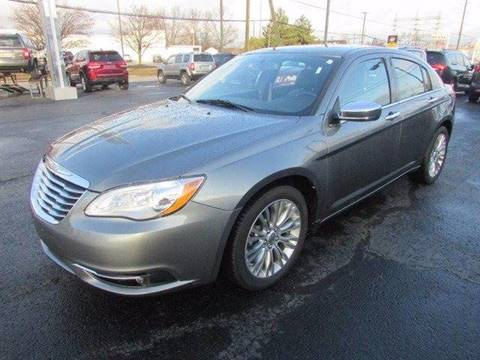 2013 Chrysler 200 for sale at Credit Connection Sales in Fort Worth TX