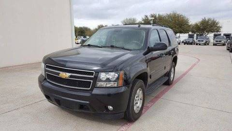 2013 Chevrolet Tahoe for sale at Credit Connection Sales in Fort Worth TX