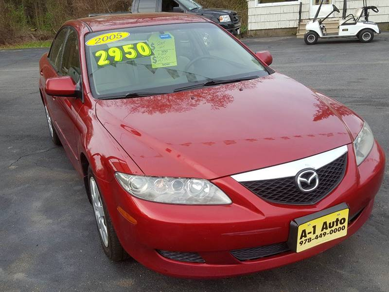 2005 Mazda MAZDA6 i 4dr Sports Sedan - Pepperell MA