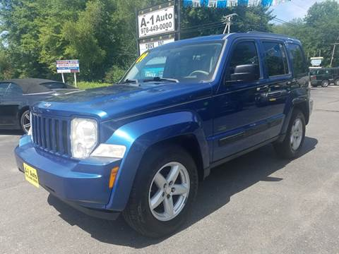 2009 Jeep Liberty for sale at A-1 Auto in Pepperell MA