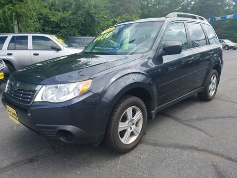 2010 Subaru Forester for sale at A-1 Auto in Pepperell MA