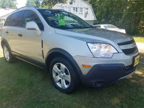2013 Chevrolet Captiva Sport for sale at A-1 Auto in Pepperell MA