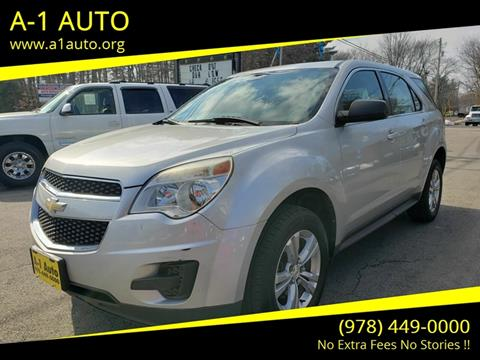 2011 Chevrolet Equinox for sale in Pepperell, MA