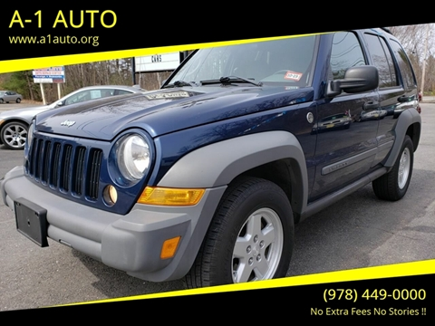 2005 Jeep Liberty for sale in Pepperell, MA