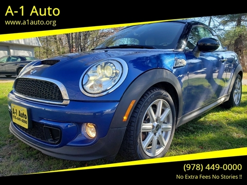 2012 MINI Cooper Coupe for sale in Pepperell, MA
