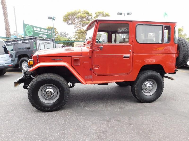 1980 Toyota FJ Cruiser For Sale At Santa Monica Suvs In Santa Monica CA