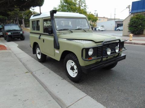 Land Rover Santa Monica >> Land Rover Defender For Sale In Santa Monica Ca Santa