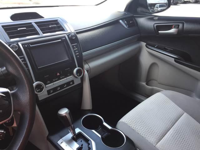 2012 Toyota Camry LE 4dr Sedan - Moore OK