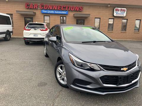 2018 Chevrolet Cruze for sale at CAR CONNECTIONS in Somerset MA