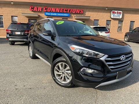 2017 Hyundai Tucson for sale at CAR CONNECTIONS in Somerset MA
