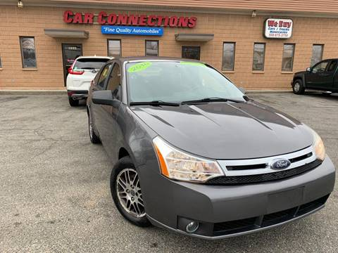 2010 Ford Focus for sale at CAR CONNECTIONS in Somerset MA