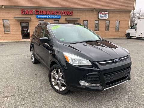 2014 Ford Escape for sale at CAR CONNECTIONS in Somerset MA
