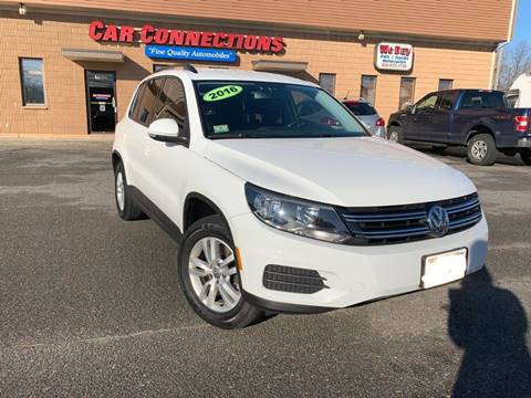 2016 Volkswagen Tiguan for sale at CAR CONNECTIONS in Somerset MA