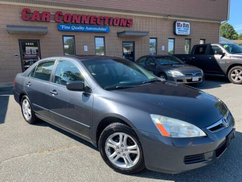 2006 Honda Accord for sale at CAR CONNECTIONS in Somerset MA