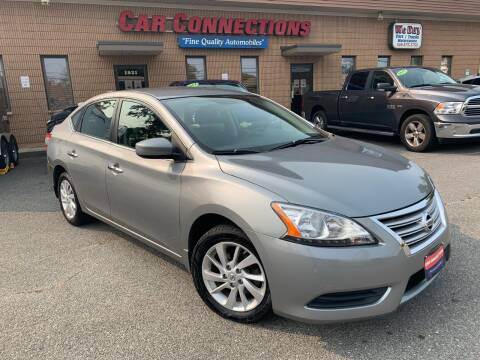 2013 Nissan Sentra for sale at CAR CONNECTIONS in Somerset MA