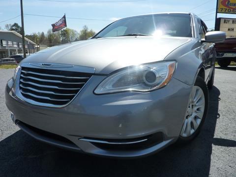 2013 Chrysler 200 for sale in Austell, GA