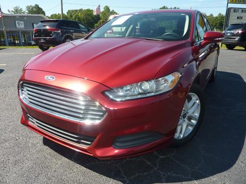 2014 Ford Fusion for sale in Austell, GA