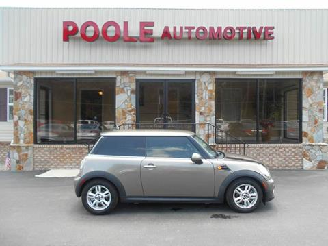 2012 MINI Cooper Hardtop for sale in Laurinburg, NC