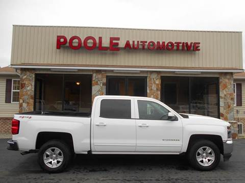 2016 Chevrolet Silverado 1500 for sale at Poole Automotive in Laurinburg NC