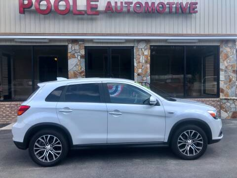 2018 Mitsubishi Outlander Sport for sale at Poole Automotive in Laurinburg NC