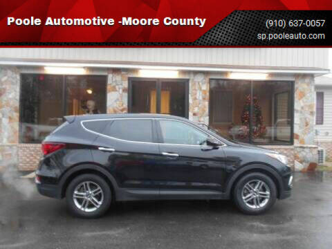 2018 Hyundai Santa Fe Sport for sale at Poole Automotive in Laurinburg NC