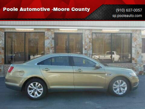 2012 Ford Taurus for sale at Poole Automotive in Laurinburg NC
