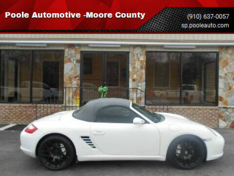 2006 Porsche Boxster for sale at Poole Automotive in Laurinburg NC