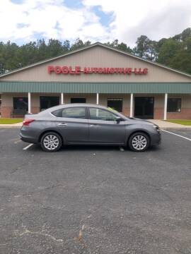2017 Nissan Sentra for sale at Poole Automotive in Laurinburg NC