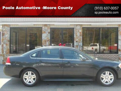 2016 Chevrolet Impala Limited for sale at Poole Automotive in Laurinburg NC
