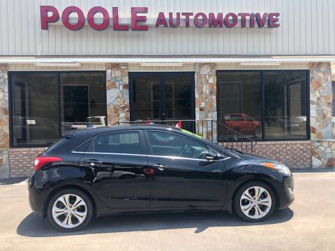 2014 Hyundai Elantra GT for sale at Poole Automotive in Laurinburg NC