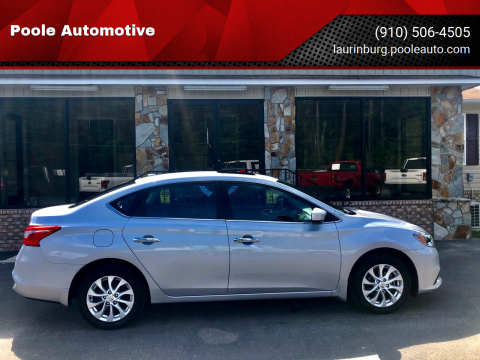 2018 Nissan Sentra for sale at Poole Automotive in Laurinburg NC