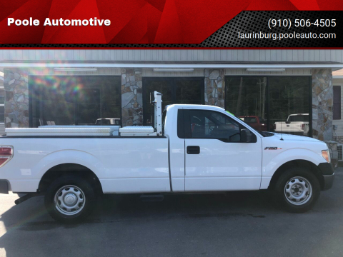 2011 Ford F-150 for sale at Poole Automotive in Laurinburg NC