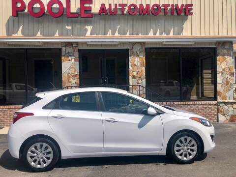 2017 Hyundai Elantra GT for sale at Poole Automotive in Laurinburg NC