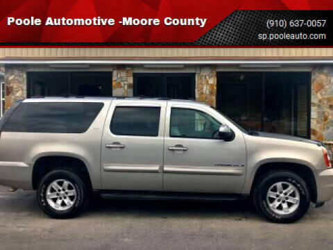 2007 GMC Yukon XL for sale at Poole Automotive in Laurinburg NC