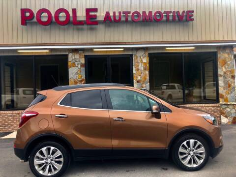 2017 Buick Encore for sale at Poole Automotive in Laurinburg NC