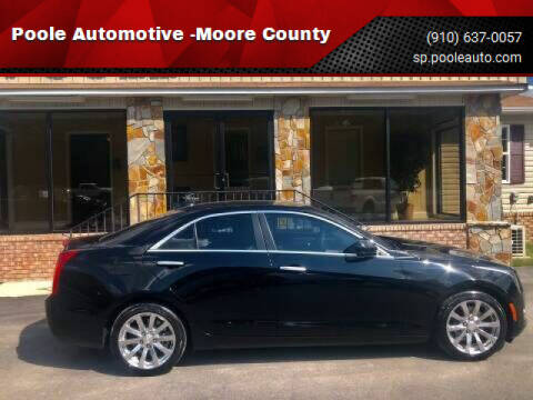 2018 Cadillac ATS for sale at Poole Automotive in Laurinburg NC