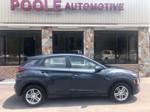 2019 Hyundai Kona for sale at Poole Automotive in Laurinburg NC