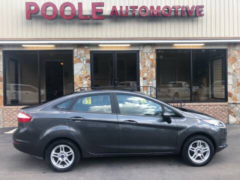 2019 Ford Fiesta for sale at Poole Automotive in Laurinburg NC