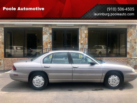 1997 Chevrolet Lumina for sale at Poole Automotive in Laurinburg NC