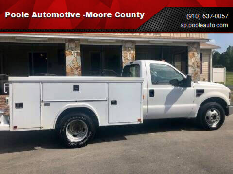 2008 Ford F-350 Super Duty for sale at Poole Automotive in Laurinburg NC
