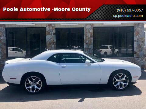 2016 Dodge Challenger for sale at Poole Automotive in Laurinburg NC