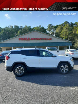 2019 GMC Terrain for sale at Poole Automotive in Laurinburg NC