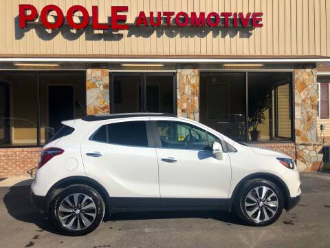 2019 Buick Encore for sale at Poole Automotive in Laurinburg NC