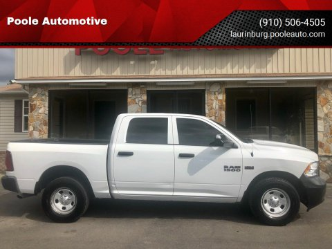 2013 RAM Ram Pickup 1500 for sale at Poole Automotive in Laurinburg NC