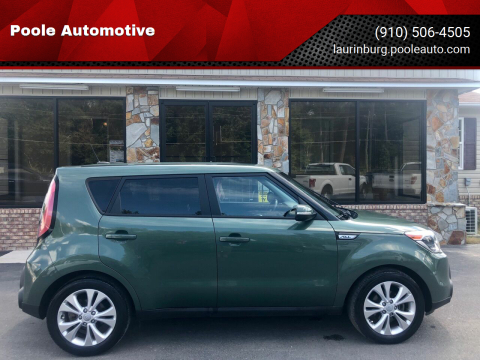 2014 Kia Soul for sale at Poole Automotive in Laurinburg NC