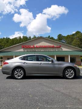 2012 Infiniti M37 for sale at Poole Automotive in Laurinburg NC