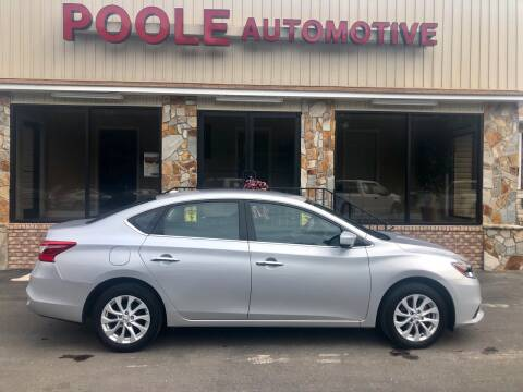2019 Nissan Sentra for sale at Poole Automotive in Laurinburg NC