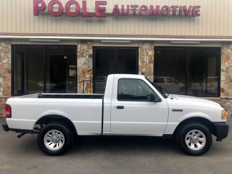 2011 Ford Ranger for sale at Poole Automotive in Laurinburg NC
